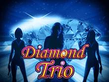 игровой автомат Diamond Trio / Бриллиантовая Троица / Алмазное Трио